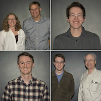Students who received Department of Biochemistry graduate fellowships