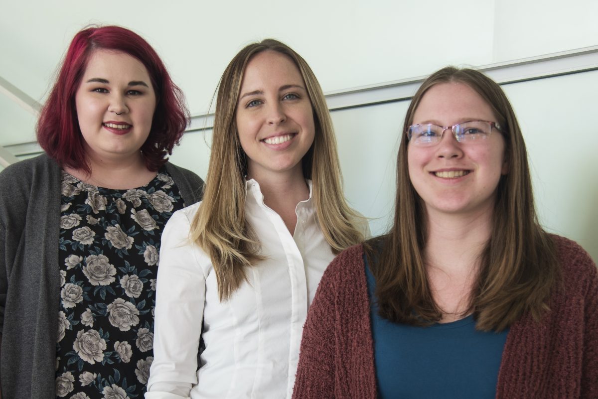 Three students who received 2019 NSF fellowships